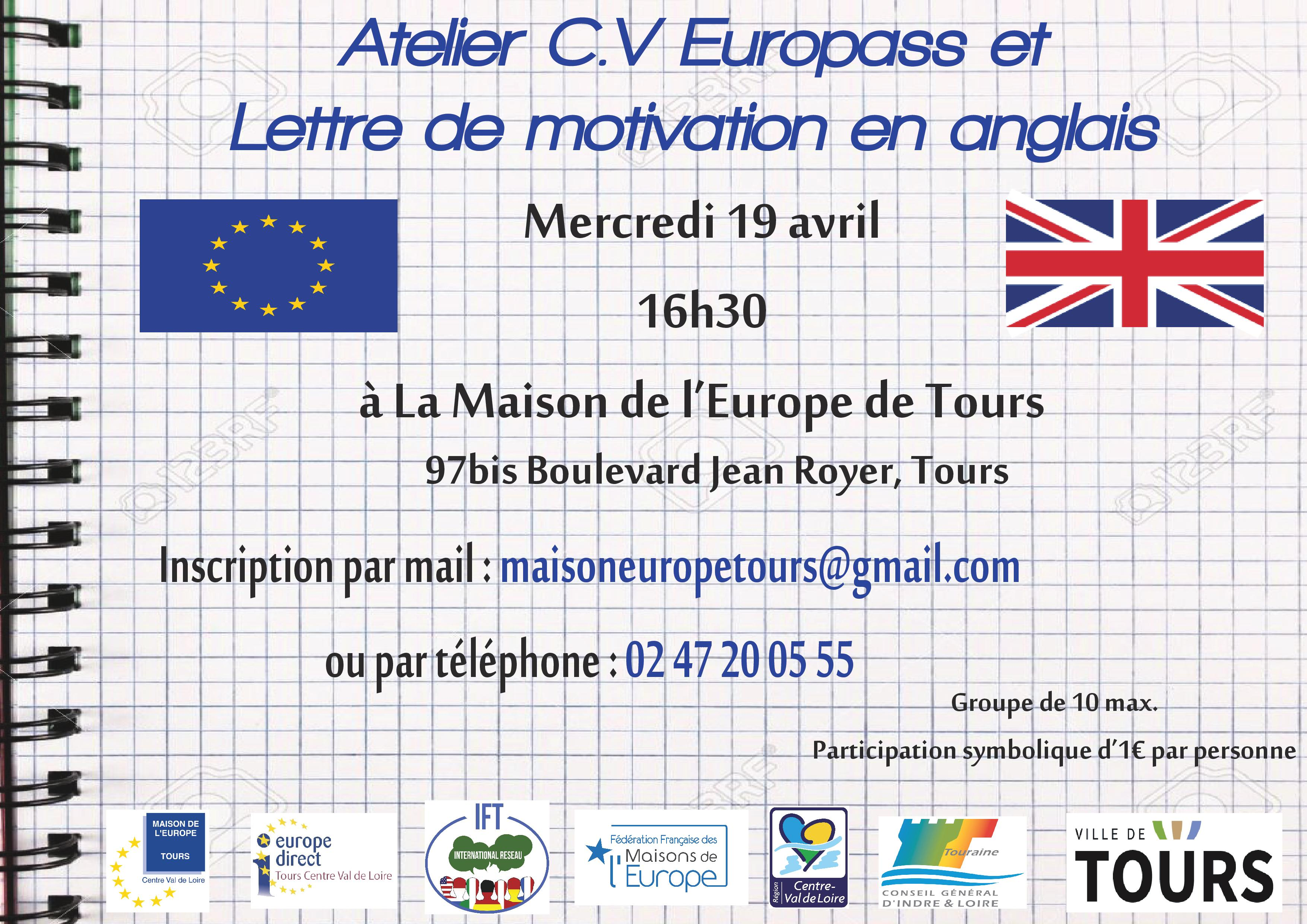Affiche Atelier 19 avril
